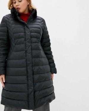 Зимняя куртка черная осенняя Persona By Marina Rinaldi