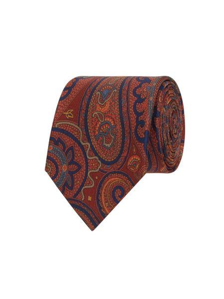 Krawat z jedwabiu Blick