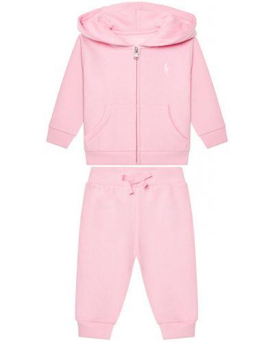 Różowy dres Lauren Ralph Lauren