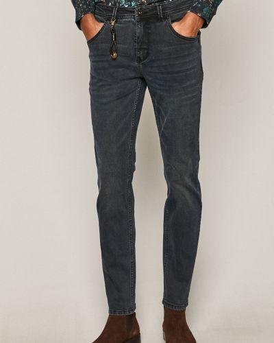 Хлопковые синие джинсы классические с карманами Medicine