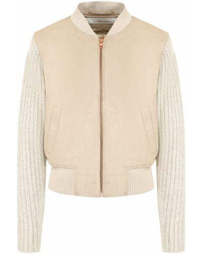 Куртка однотонная замшевая See By Chloé