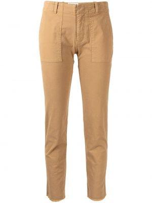 Зауженные брюки - коричневые Nili Lotan