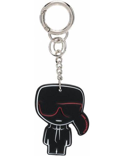 Черный брелок Karl Lagerfeld