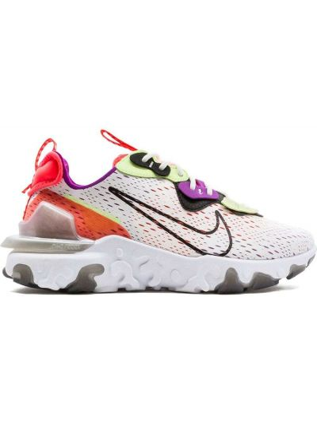 Белые кроссовки на шнуровке Nike