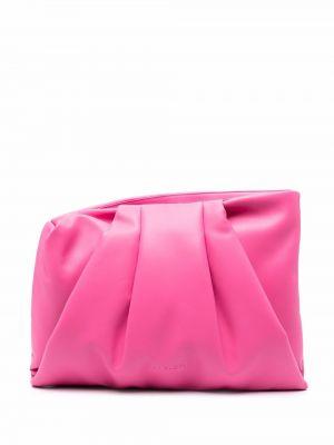 Różowa torebka skórzana Ambush