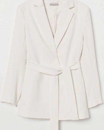 Пиджак удлиненный - белый H&m