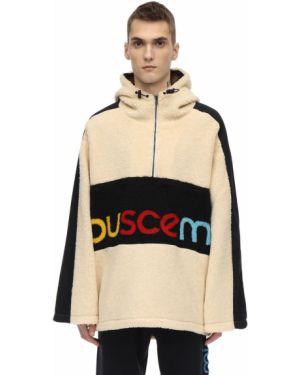 Biała kurtka z kapturem Buscemi