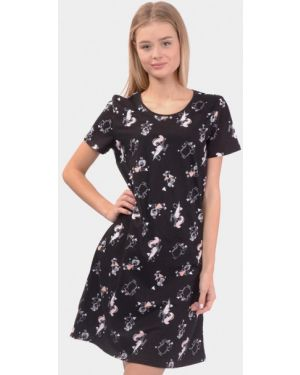 Домашнее черное платье N.el.