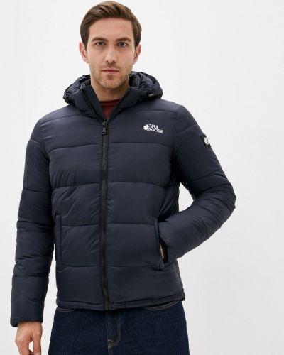 Утепленная синяя короткая куртка Paragoose
