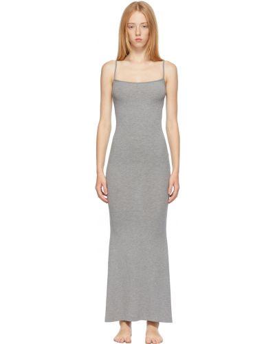 Платье макси длинное Skims