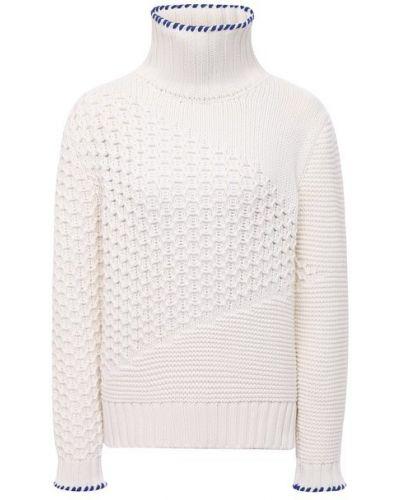 Кашемировый свитер - белый Kiton