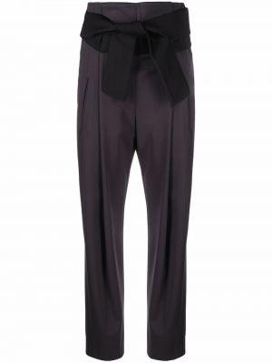 Черные брюки с карманами Peserico