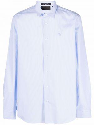 Biała koszula z printem Philipp Plein