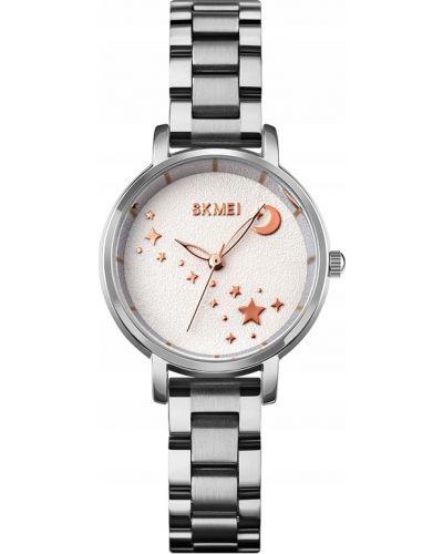 Czarny zegarek elegancki Skmei