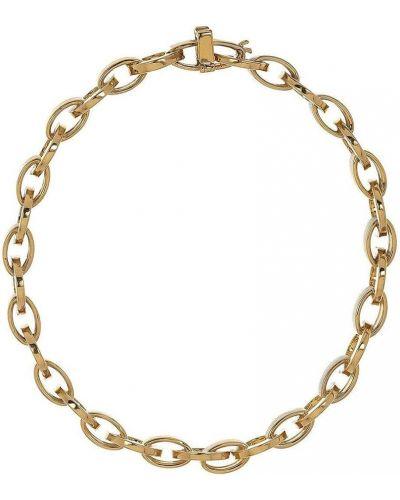 Żółta złota bransoletka ze złota Lito