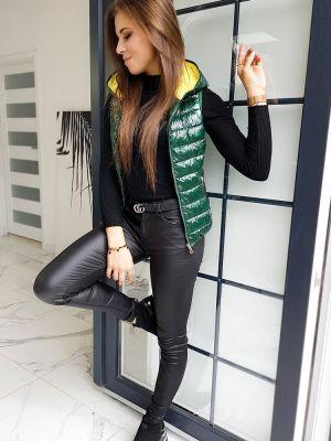 Zielona sport kamizelka elegancka materiałowa Dstreet
