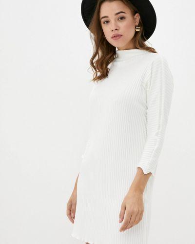Вязаное белое платье Y.o.u.