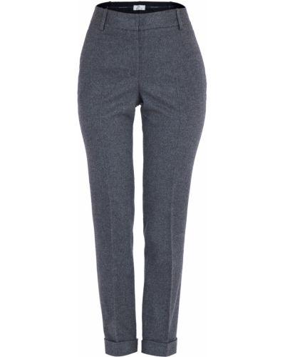 Классические брюки с завышенной талией - серые Maison Ullens