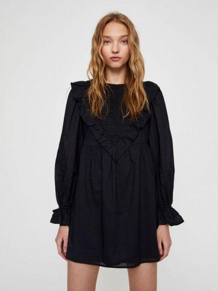 Платье осеннее прямое Pull&bear