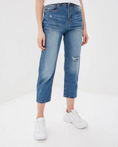 Прямые джинсы синие Modis