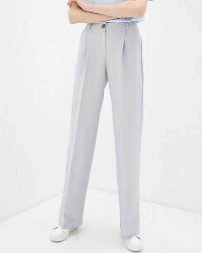Расклешенные серые брюки Irma Dressy