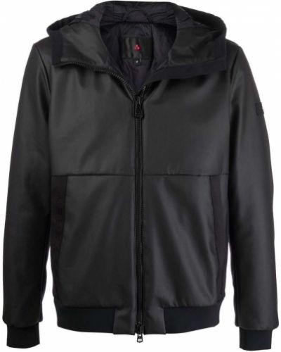 Черная куртка классическая Peuterey