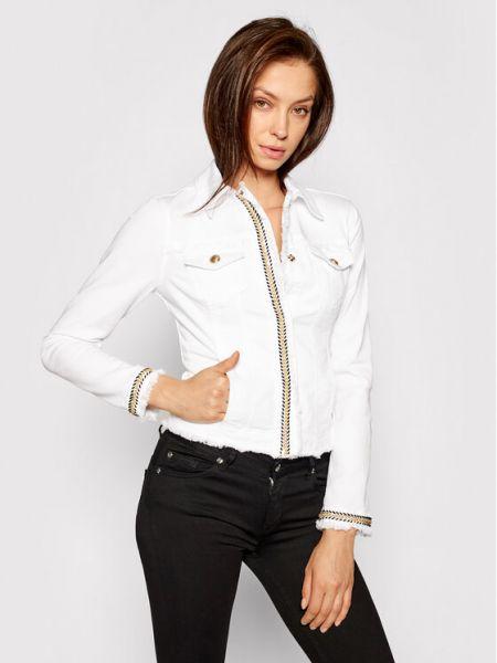 Biała kurtka jeansowa Liu Jo