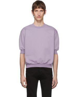 Свитшот фиолетовый флисовый Random Identities
