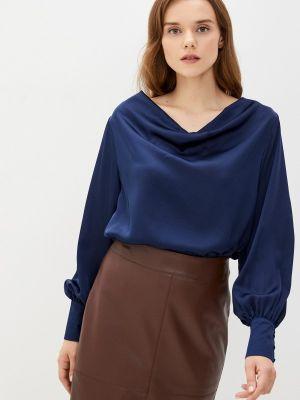 Синяя блузка осенняя Zibi London