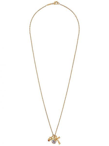 Ожерелье золотой Dolce & Gabbana