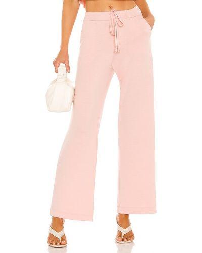 Różowe spodnie Only Hearts
