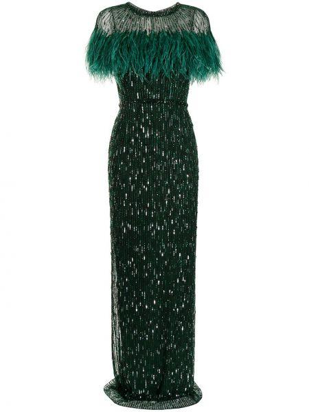 Zielona sukienka Jenny Packham
