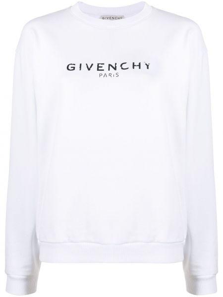 Sweter z kołnierzem z nadrukiem Givenchy