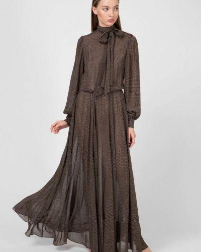 Вечернее платье - коричневое Kano
