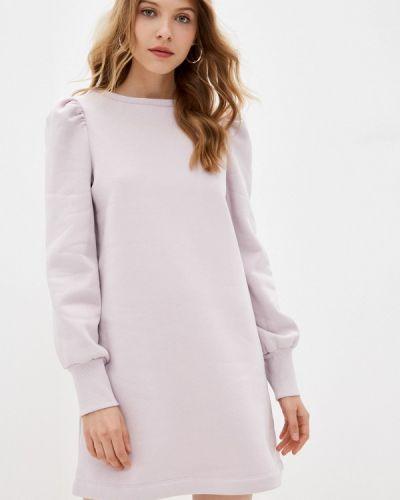 Фиолетовое платье Naf Naf