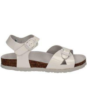 Białe sandały Bionatura