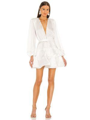 Шелковое платье мини - белое Bronx And Banco