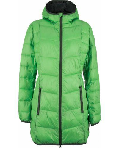 Стеганая куртка трансформер зеленая Bonprix