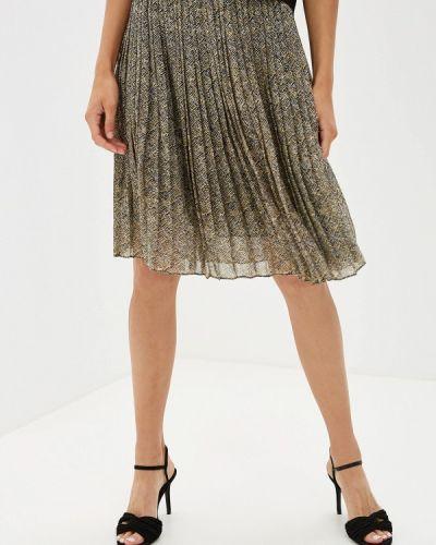 Плиссированная юбка бежевый Sela