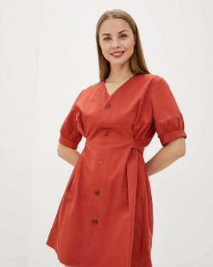 Платье - красное Sela