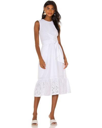 Хлопковое платье - белое Parker