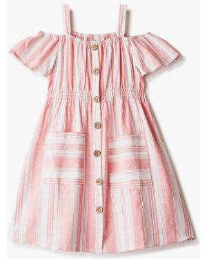 Платье розовый повседневное Defacto