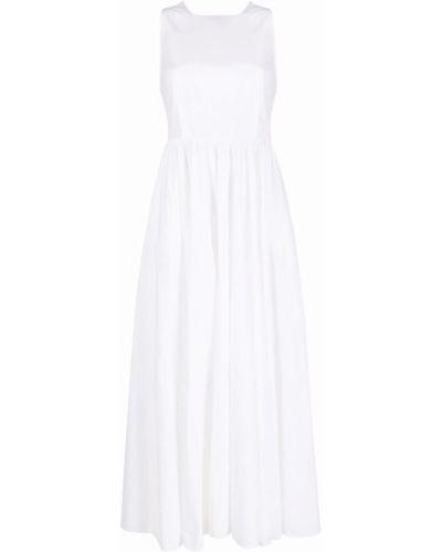 Хлопковое платье макси - белое Department 5
