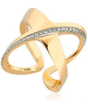 Biały złoty pierścionek z diamentem Antonini