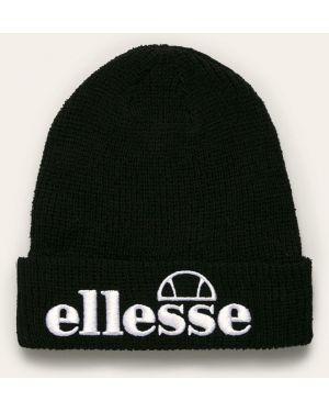 Czarna czapka bawełniana Ellesse