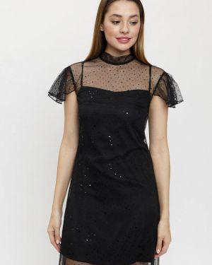 Вечернее платье осеннее черное Madlen