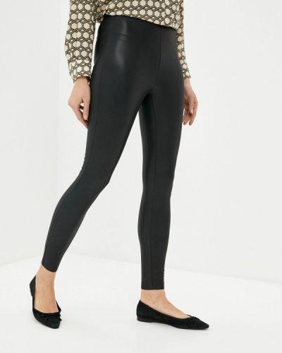 Черные кожаные брюки Tiffosi