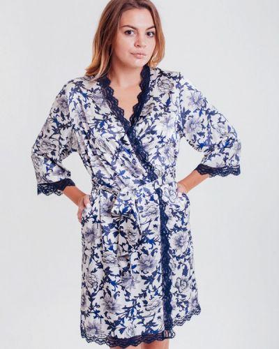 Домашний халат - голубой Mia-amore