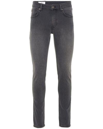 Mom jeans bawełniane - szare J.lindeberg