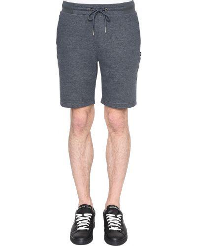 Хлопковые шорты - серые Joop!